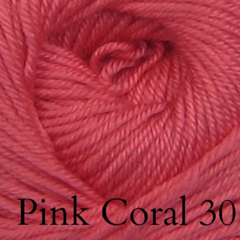 Ella Rae Cozy Soft Solids Yarn Pink Coral 30 - 22