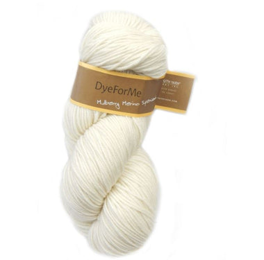 Plymouth DyeForMe Undyed Yarn - Mulberry Merino Superwash
