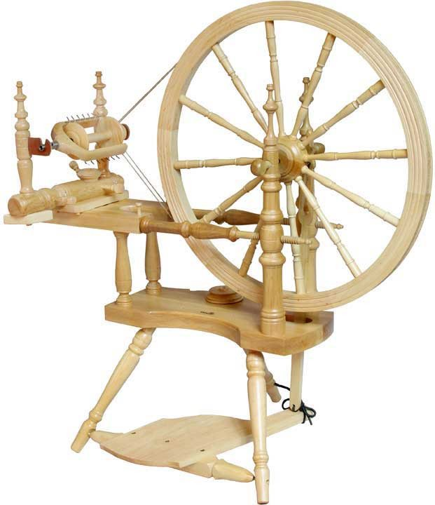 Kromski Polonaise Spinning Wheel Clear - 1
