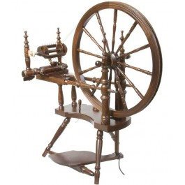 Kromski Polonaise Spinning Wheel Walnut - 3