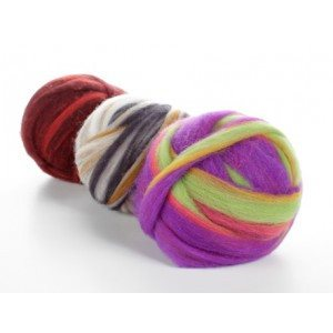 Potluck Roving 8oz Ball  - 1