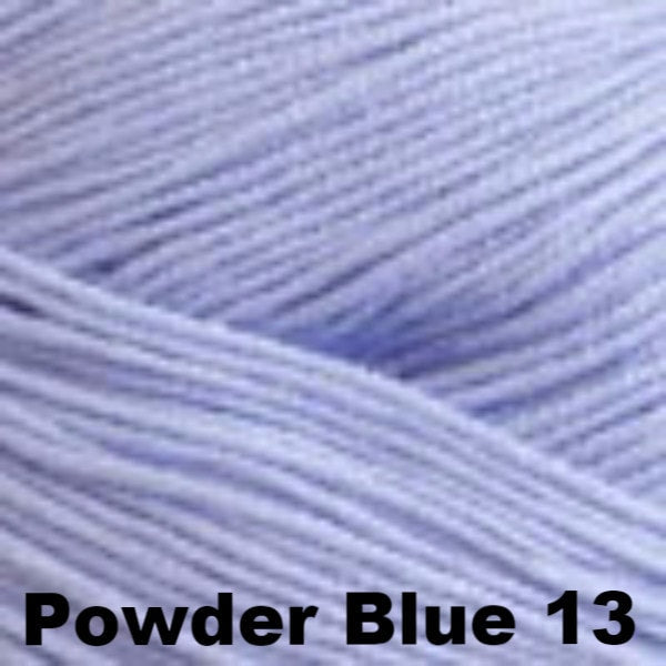 Paradise Fibers Yarn Cascade Sateen Yarn Powder Blue 13 - 8