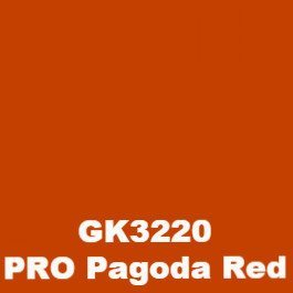 Procion MX Reactive Dye 3oz Jar - Yellows, Oranges & Reds-Dyes-GK3220 PRO Pagoda Red-