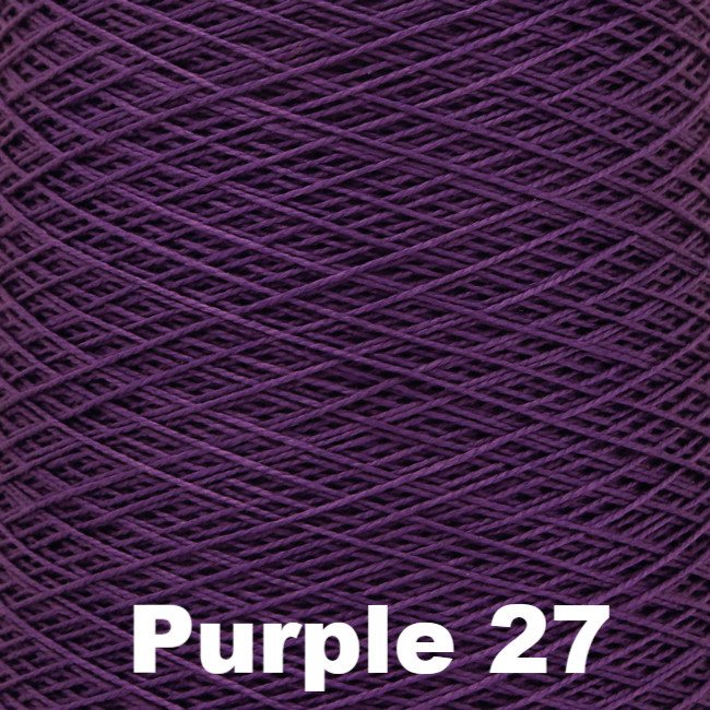 5/2 Perle Cotton 1lb Cones Purple 27 - 77