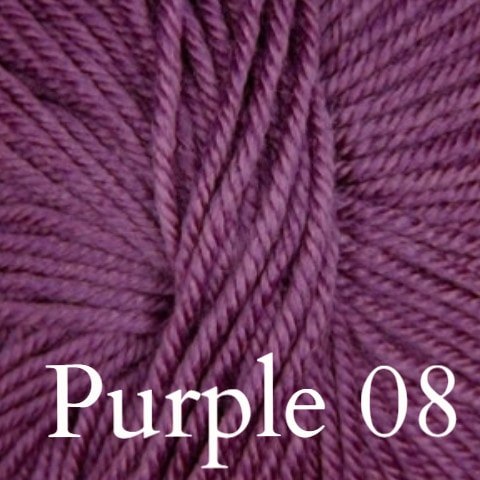 Ella Rae Cozy Soft Solids Yarn Purple 08 - 5