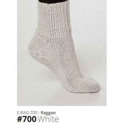 Viking of Norway Raggen Yarn White 700 - 1