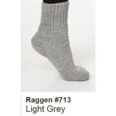 Viking of Norway Raggen Yarn Light Grey 713 - 3