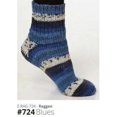 Viking of Norway Raggen Yarn Blues 724 - 6