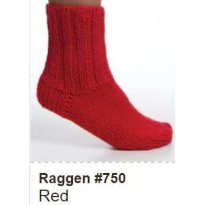 Viking of Norway Raggen Yarn Red 750 - 8