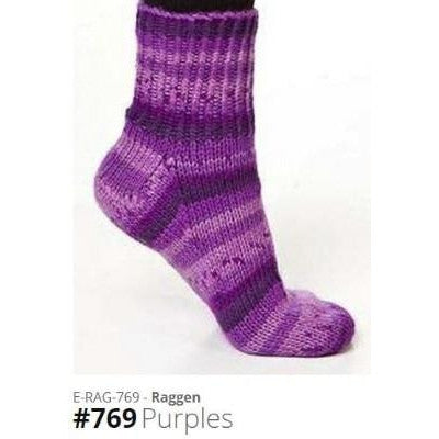 Viking of Norway Raggen Yarn Purples 769 - 15