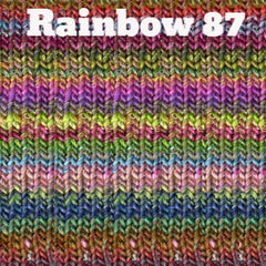 Paradise Fibers Yarn Noro Silk Garden Yarn Rainbow 87 - 3