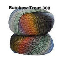Crystal Palace Mini Mochi Yarn Rainbow Trout 308 - 17