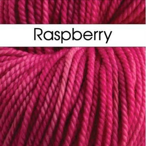 Paradise Fibers Yarn Anzula Luxury Cloud Yarn Raspberry - 4
