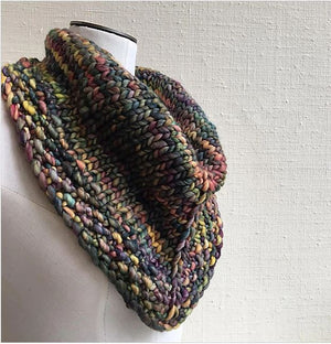 Why Wait? Cowl Kit featuring Malabrigo-Kits-Paradise Fibers