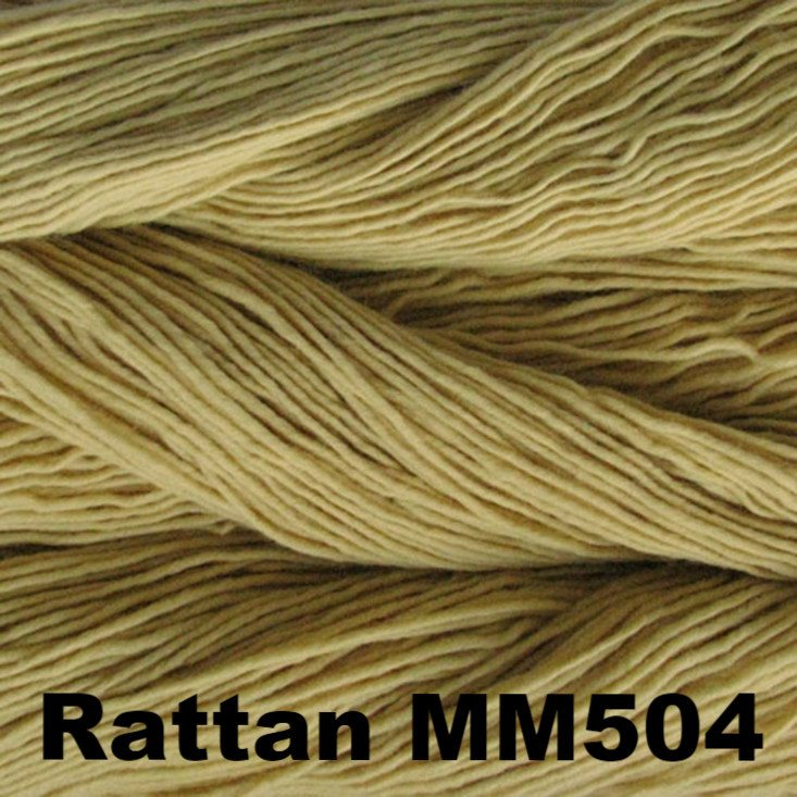 Malabrigo Worsted Yarn Semi-Solids Rattan MM504 - 29
