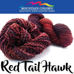 Mountain Colors Twizzlefoot Yarn Red Tail Hawk - 65