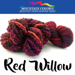 Mountain Colors Twizzlefoot Yarn-Yarn-Red Willow-