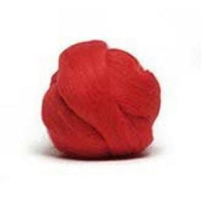 Louet Dyed Corriedale Top (1/2 lb bags) Red - 4