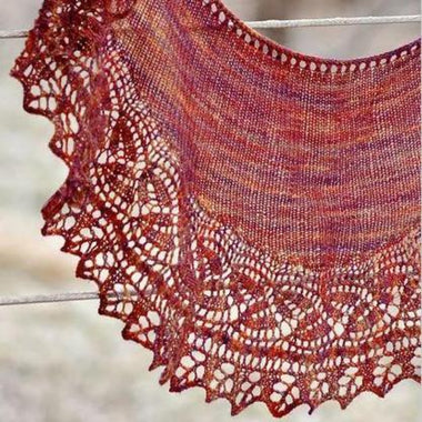 Regina Marie Shawl featuring Juniper Moon-Kits-Paradise Fibers
