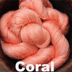 Paradise Fibers Yarn Reywa Fibers Bloom Yarn Coral - 4