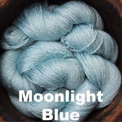 Paradise Fibers Yarn Reywa Fibers Bloom Yarn Moonlight Blue - 8