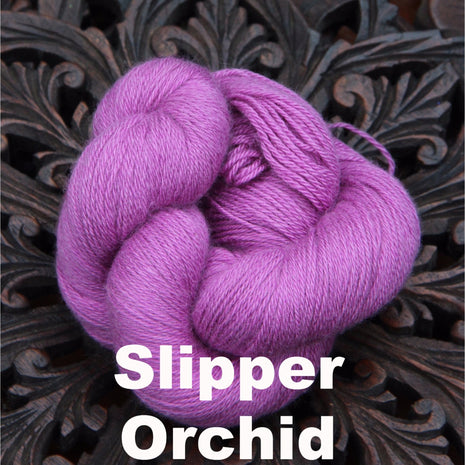 Paradise Fibers Yarn Reywa Fibers Harmony Yarn Slipper Orchid - 8