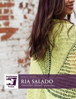 Juniper Moon Farm Ria Salado Circular Shawl Pattern