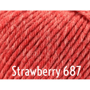 Rowan Baby Merino Silk DK Yarn-Yarn-Strawberry 687-