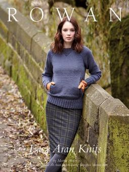 Rowan Easy Aran Knits Pattern Book-Patterns-