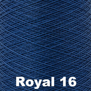 3/2 Mercerized Perle Cotton-Weaving Cones-Royal 16-