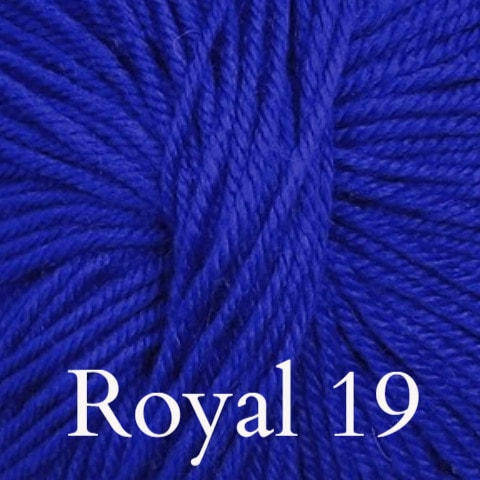 Ella Rae Cozy Soft Solids Yarn Royal 19 - 11