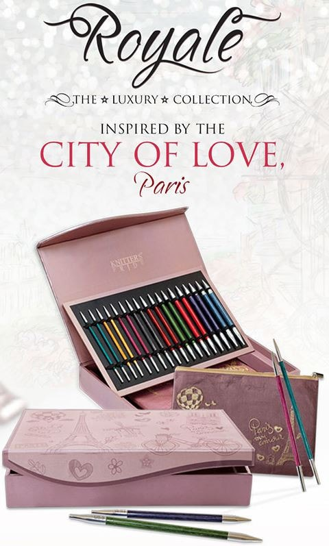 The Royale  Interchangeable Knitting Needle Set Luxury Collection by Knitter's Pride  - 1