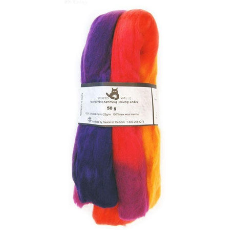 Artfelt Multi Colored Merino Standard Rovings Royaly 1536 - 3