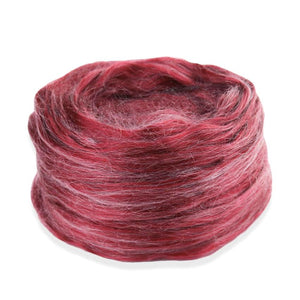 Paradise Fibers Frosted Halo Collection - Mohair and Silk Fiber Blends-Fiber-Ruby Red Grapefruit-2oz-