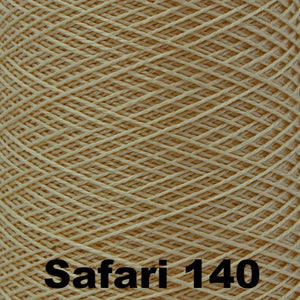 3/2 Mercerized Perle Cotton-Weaving Cones-Safari 140-