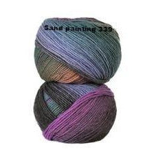 Crystal Palace Mini Mochi Yarn Sand Painting 339 - 4