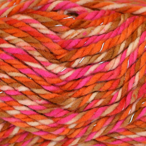 Paradise Fibers Yarn Schachenmayr Lumio Color Slightly Reflective Effect - Tropicana