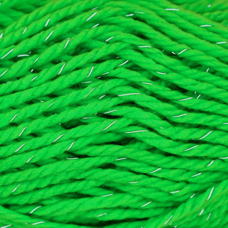 Paradise Fibers Yarn Schachenmayr Lumio Yarn - Neon Green