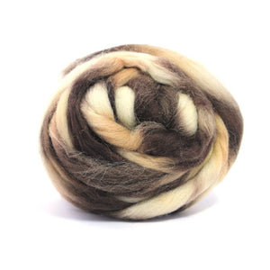 Paradise Fibers Space Dyed Wool Mars / 4oz - 2