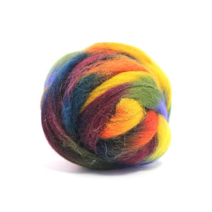 Paradise Fibers Space Dyed Wool-Fiber-Neptune-4oz-