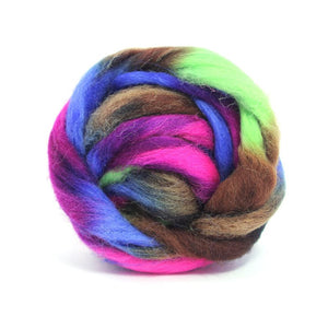 Paradise Fibers Space Dyed Wool-Fiber-Mercury-4oz-