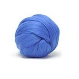 Louet Dyed Corriedale Top (1/2 lb bags) French Blue - 7