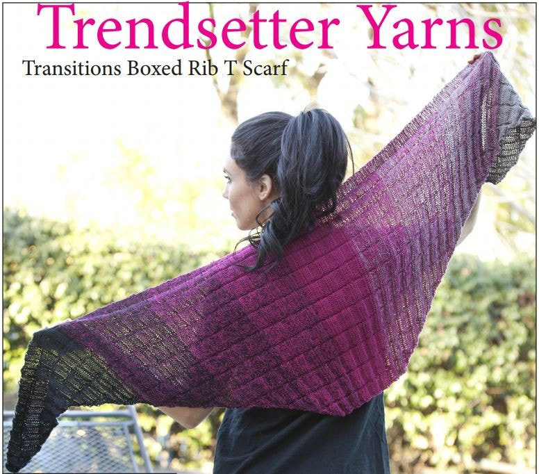 Trendsetter Yarns- Transitions Shawl Kit  - 1
