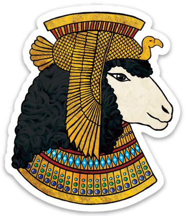 Egyptian Sheep Magnet-Accessories-Paradise Fibers