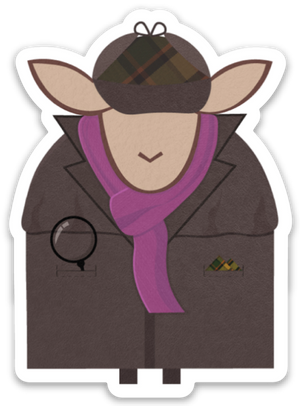 Paradise Fibers Sheep Stickers-Stickers-Shewelock-