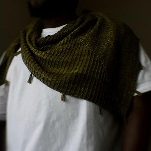 Siki Shawl Pattern by Dawn Henderson-Patterns-Paradise Fibers