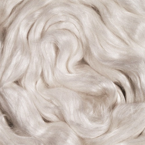 Ashland Bay Merino/Cultivated Silk Fiber Blend