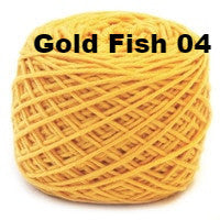 HiKoo SimpliWorsted Yarn-Yarn-GoldFish 04-