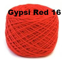 HiKoo SimpliWorsted yarn Gypsi Red 16 - 30