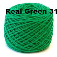HiKoo SimpliWorsted yarn Real Green 31 - 22
